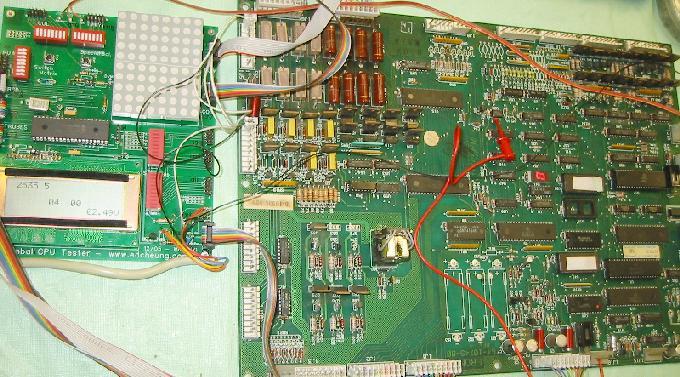 Williams System 9 & 11 CPU board repair