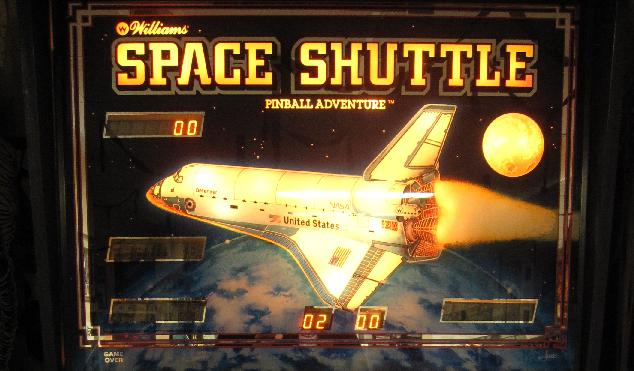 Space Shuttle Pinball Playfield - Pics about space