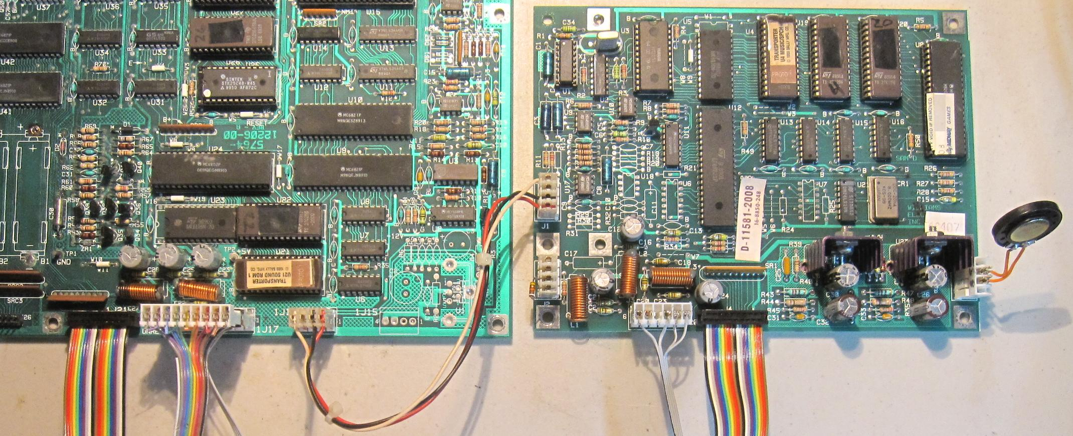 Williams System 9 11 Cpu Board Repair How To Check A Circuit Sound Test