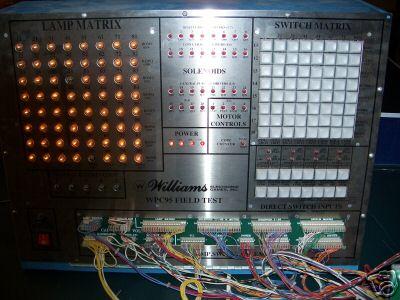 Wpc Test williams system 9 11 cpu board repair