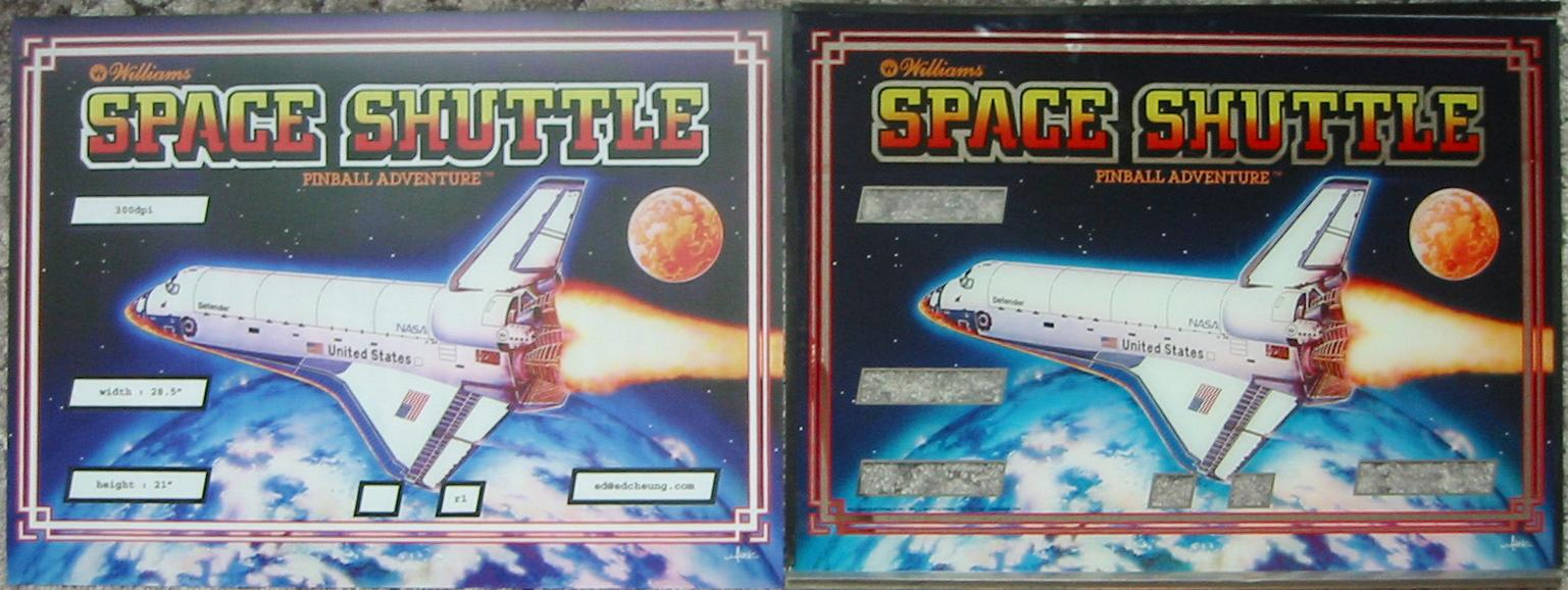 Space Mission Pinball Backglass (page 2) - Pics about space