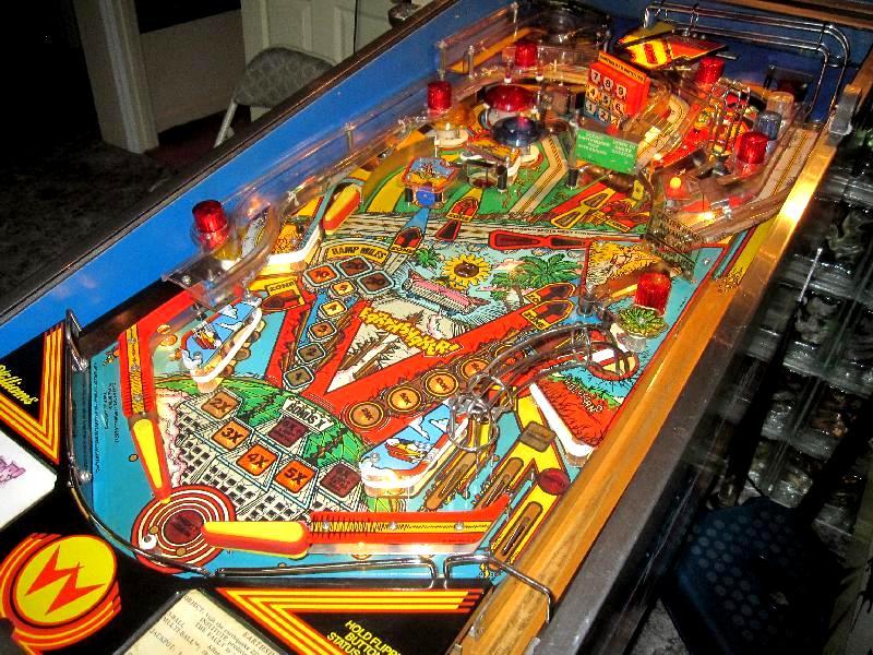 earthshaker pinball machine