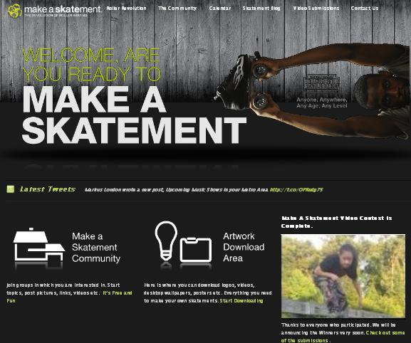 Skating contest from makeaskatement.com