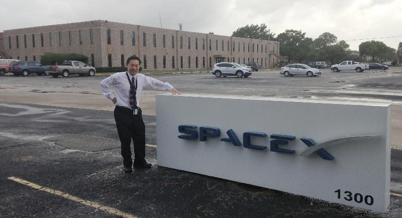 space x in houston at the spacex offices